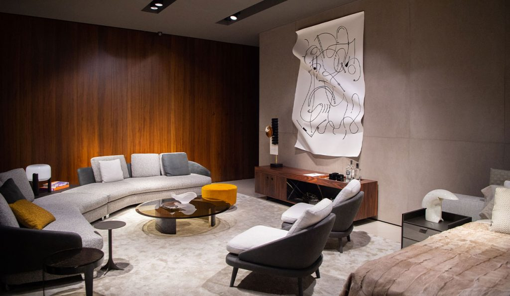 Combined Strength Exhibition  At Minotti Miami thru February 2021