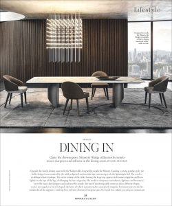 Discover the Wedge dining table